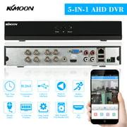 Best DVRs - KKmoon 8CH 1080P Hybrid NVR AHD TVI CVI Review