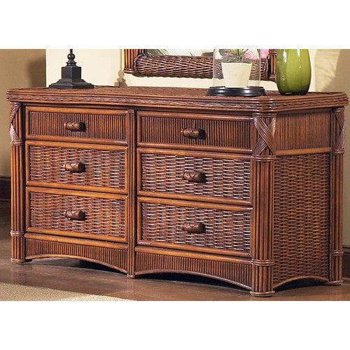 ElanaMar Designs Barbados 6 Drawer Dresser