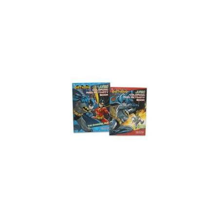 UPD Batman Jumbo 96P Activity & Coloring Book - Bad Guys Beware
