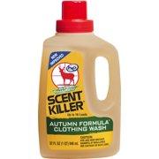 Scent Killer Autumn Formula Liquid Clothing Wash 32 FL OZ
