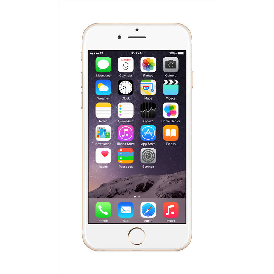 Apple iPhone 6 16GB LTE Cellular Boost Mobile, Gold, Refurbished