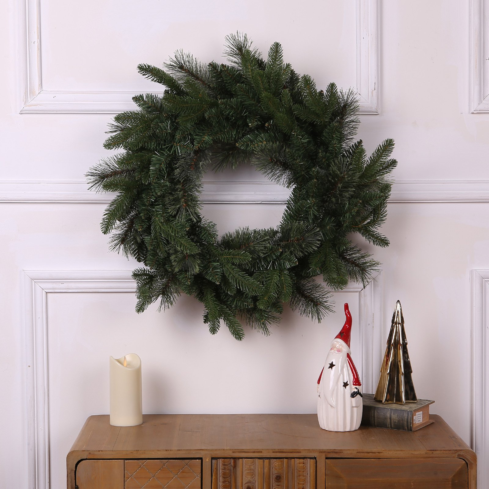 Winsome House 24 in. Cashmere Wreath