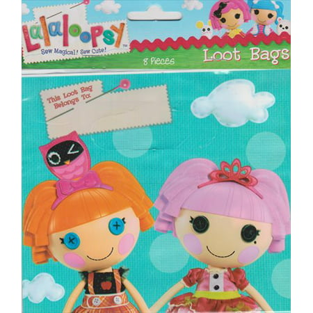 Lalaloopsy Favor Bags (8ct)](Lalaloopsy Party City)