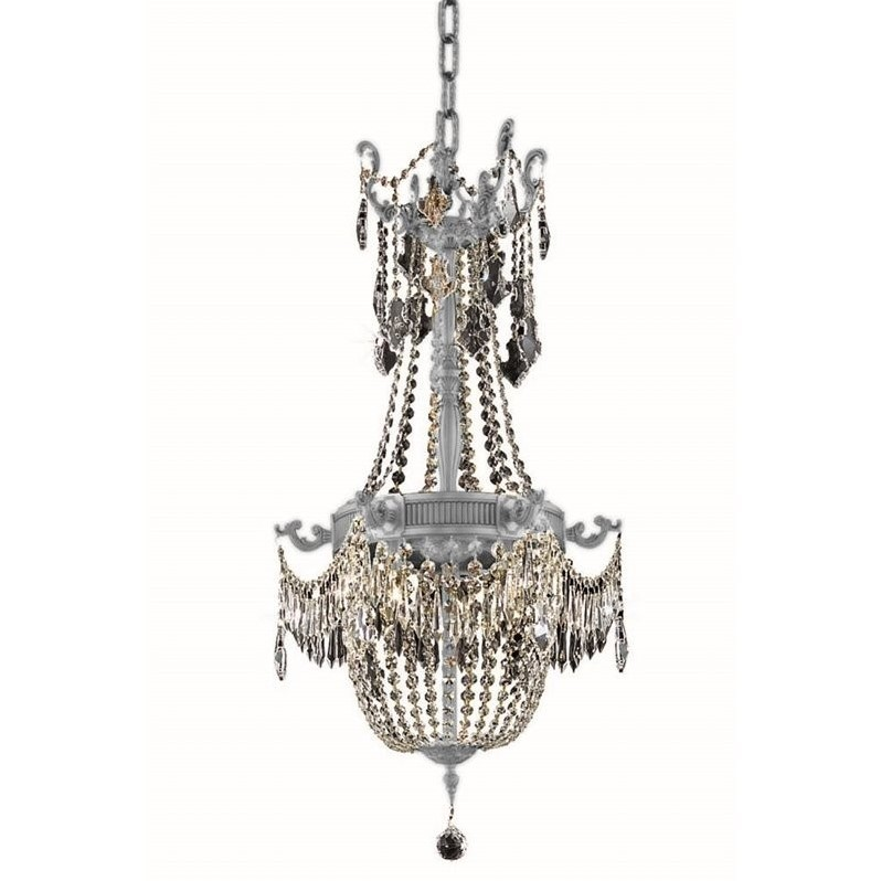 "Elegant Lighting Esperanza 18"" 8 Light Royal Crystal Chandelier - image 1 de 1"