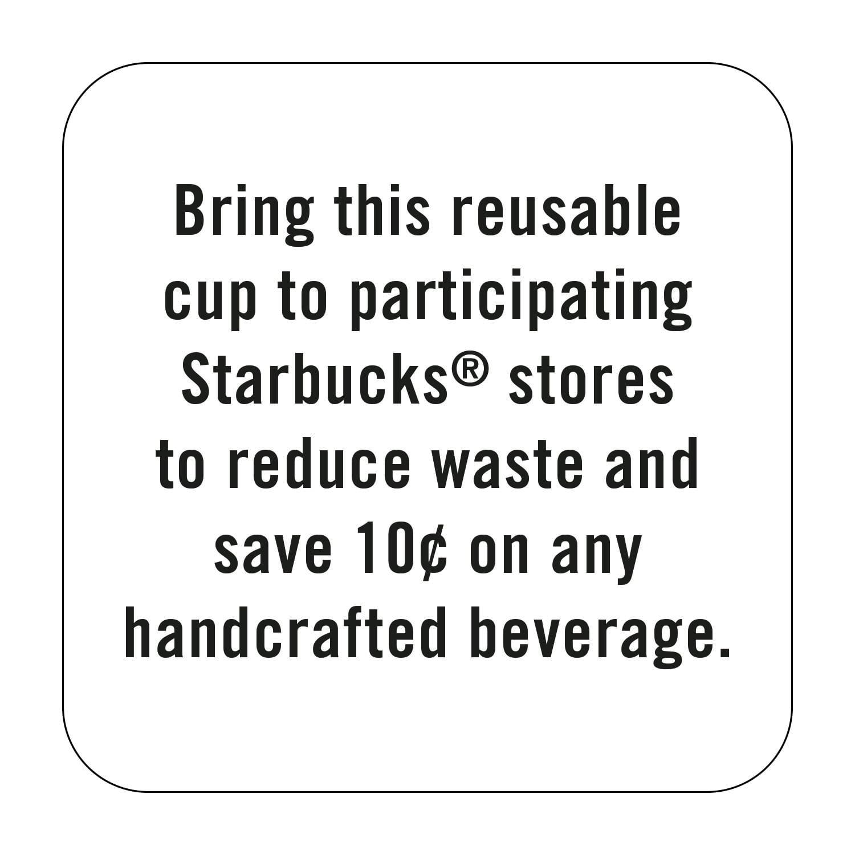 Starbucks 16oz Reusable Cups 5-Pack White - Walmart.com