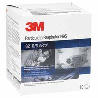 8210Plus Particulate Respirator N95 Pro Pkg Red, Sold As 1 Box, 10 Each Per Box by