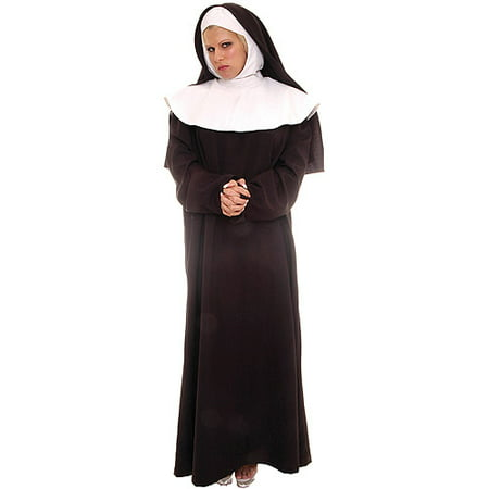 Mother Superior Adult Halloween Costume - Pregnant Mom Costumes