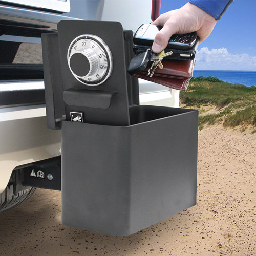 Mesa Safe MHK1 Portable Hitch Vault with Mechanical Dial Lock
