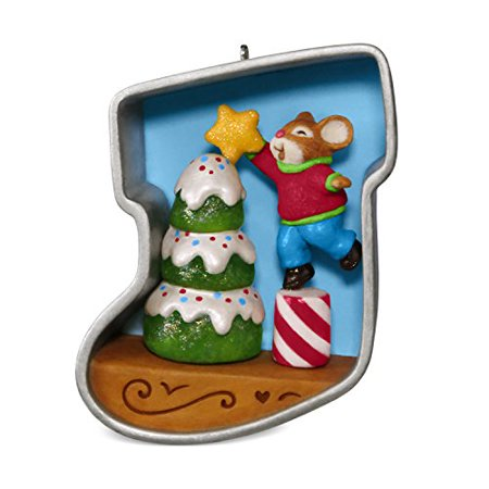 Hallmark Cookie Cutter Christmas #6 Decorating Tree Keepsake Christmas Ornament ()