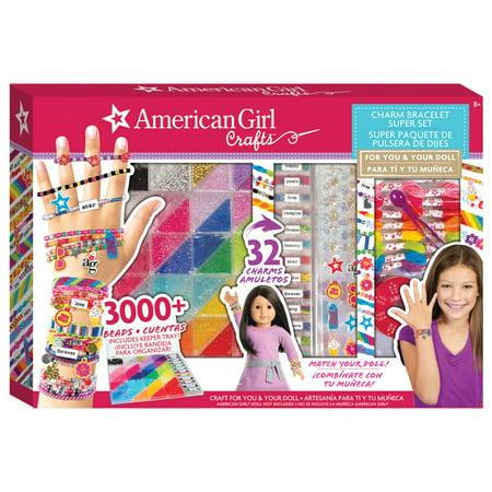 b789f309f American Girl Bracelet Extravaganza Kit with Charms - Walmart.com