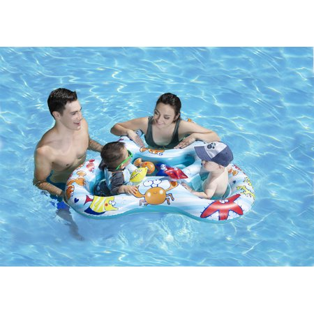 Poolmaster Learn-to-Swim Mommy and Us Baby Swimming Pool Float
