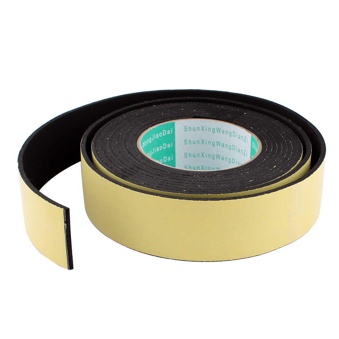 Unique Bargains 4M 40mm x 3mm Single Side Adhesive Foam Sealing Tape for Door Window