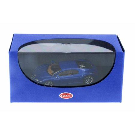 Bugatti Chiron Eb 18 3  Blue   Autoart 50911   1 43 Scale Collectible Diecast Vehicle Replica