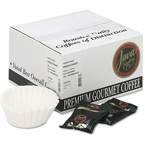Distant Lands Coffee Portion Packs, 1-1/2 oz Packs, French Roast