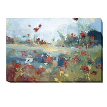 Garden Delight by Noah Desmond Premium Gallery-Wrapped Canvas Giclee Art - 16 x 24 x 1.5 in.