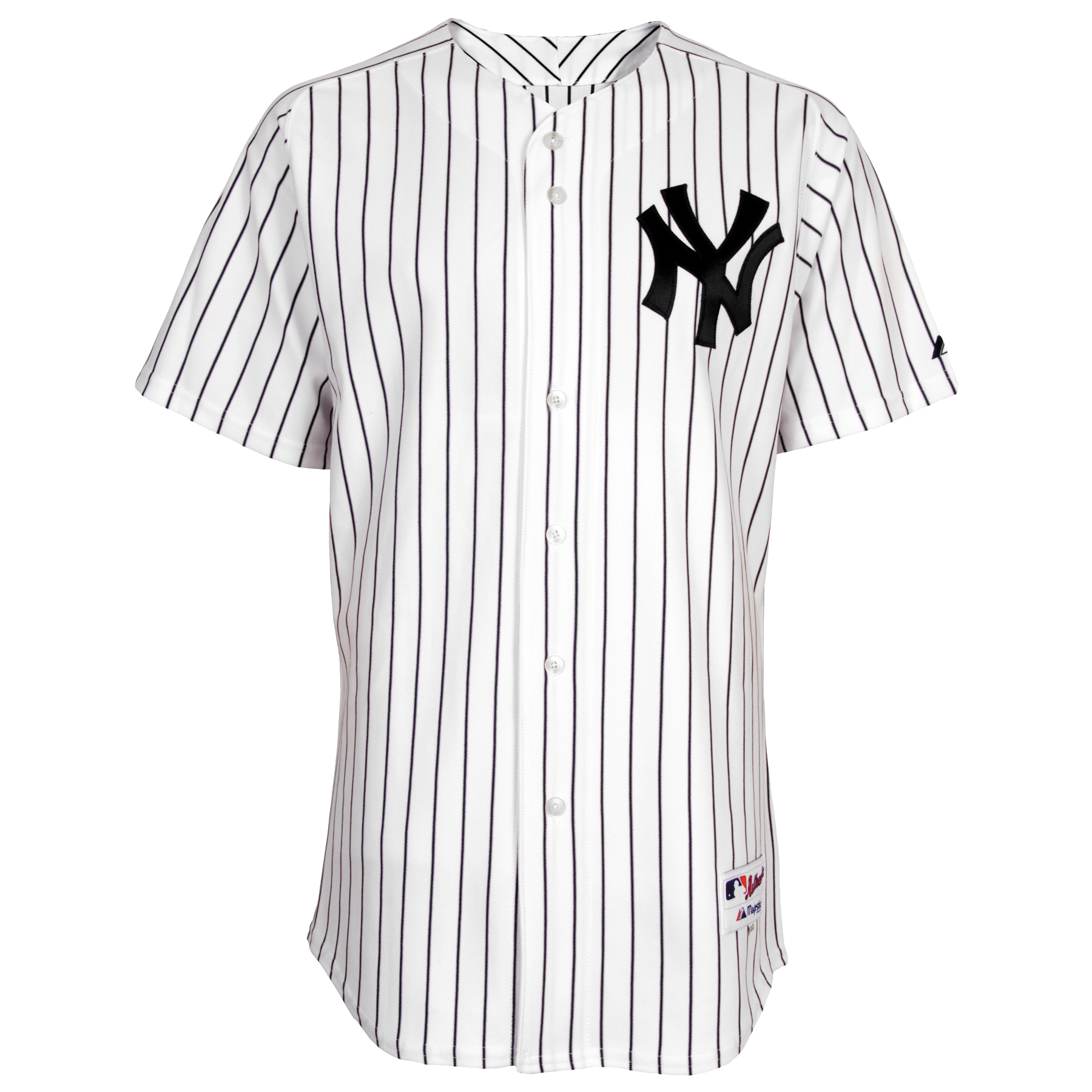 Derek Jeter New York Yankees Majestic Authentic Jersey - White - Walmart.com 5e75d6465d0