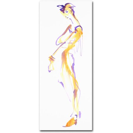 "Trademark Fine Art ""Raspberry Swirl"" Canvas Art by Jennifer Lilya"