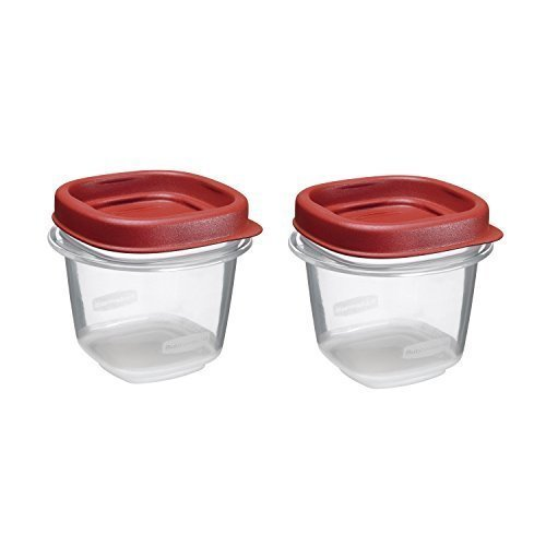 Rubbermaid Easy Find Lid Food Storage Set 12 Cup 4 Pack of 2