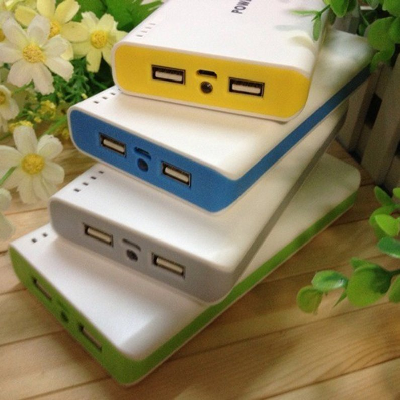 Hot Sale 50000mah External Power Bank Backup Dual USB Battery Charger For Cell Phone