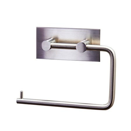 Daily Mall Brushed Finish Stainless Steel Toilet Paper Holder Storage Bathroom Kitchen Stick Paper Towel Roll
