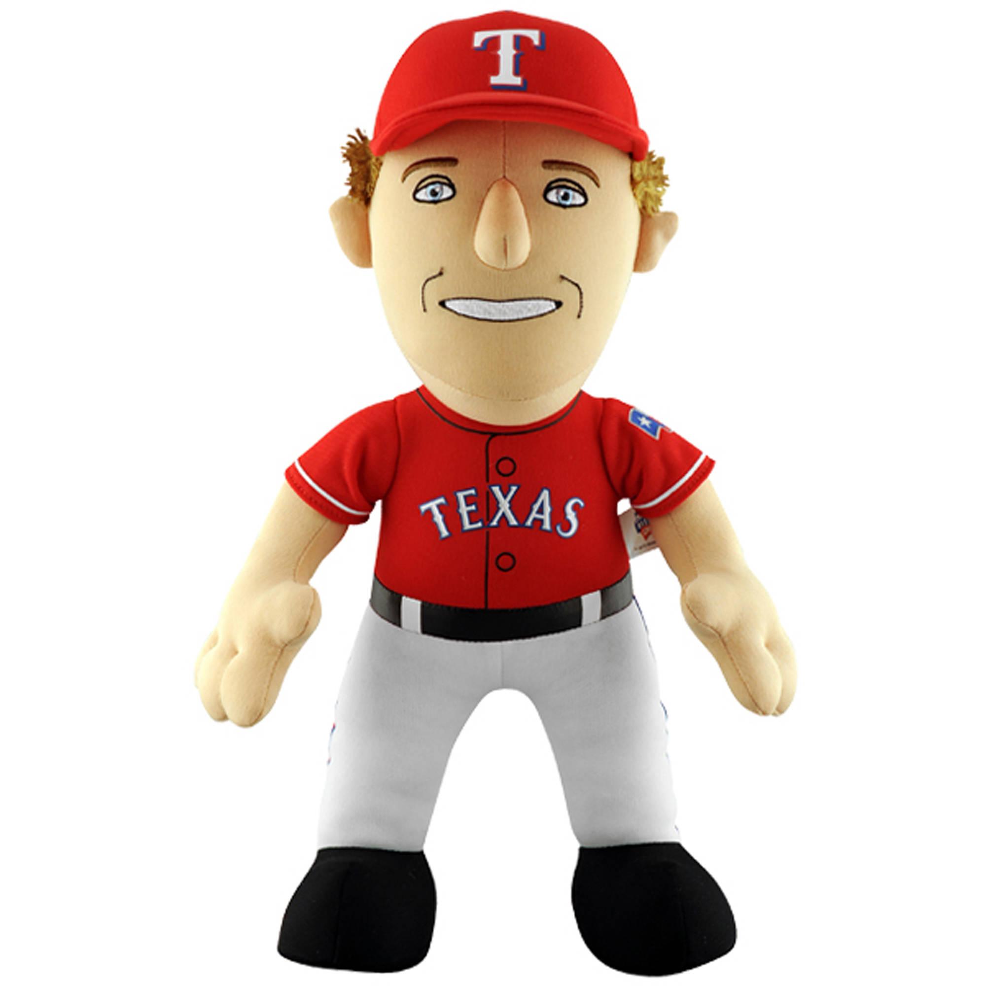 """Bleacher Creatures MLB 14"""" Plush Doll, Josh Hamilton, Texas Rangers"""