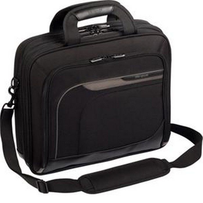 """Targus Tbt045us Carrying Case For 15.4"""" Notebook Polyester - Black Gray"""