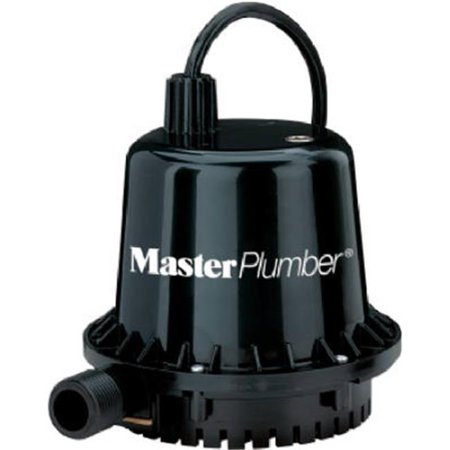 Geyser Jr Thermoplastic Submersible Utility Pump 1 10 hp Motor 390 gpm