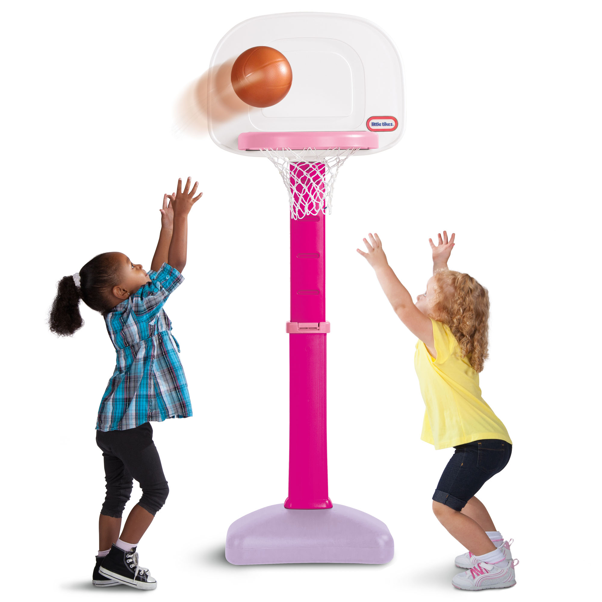 Little Tikes TotSports Easy Score Basketball Set, Pink