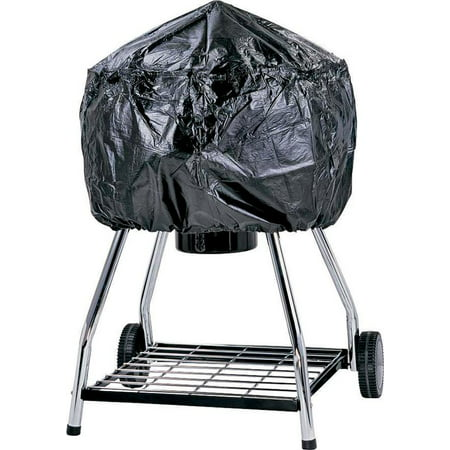 Omaha Tools - Omaha Grill Cover, For Use With Kettle, Vinyl, Black