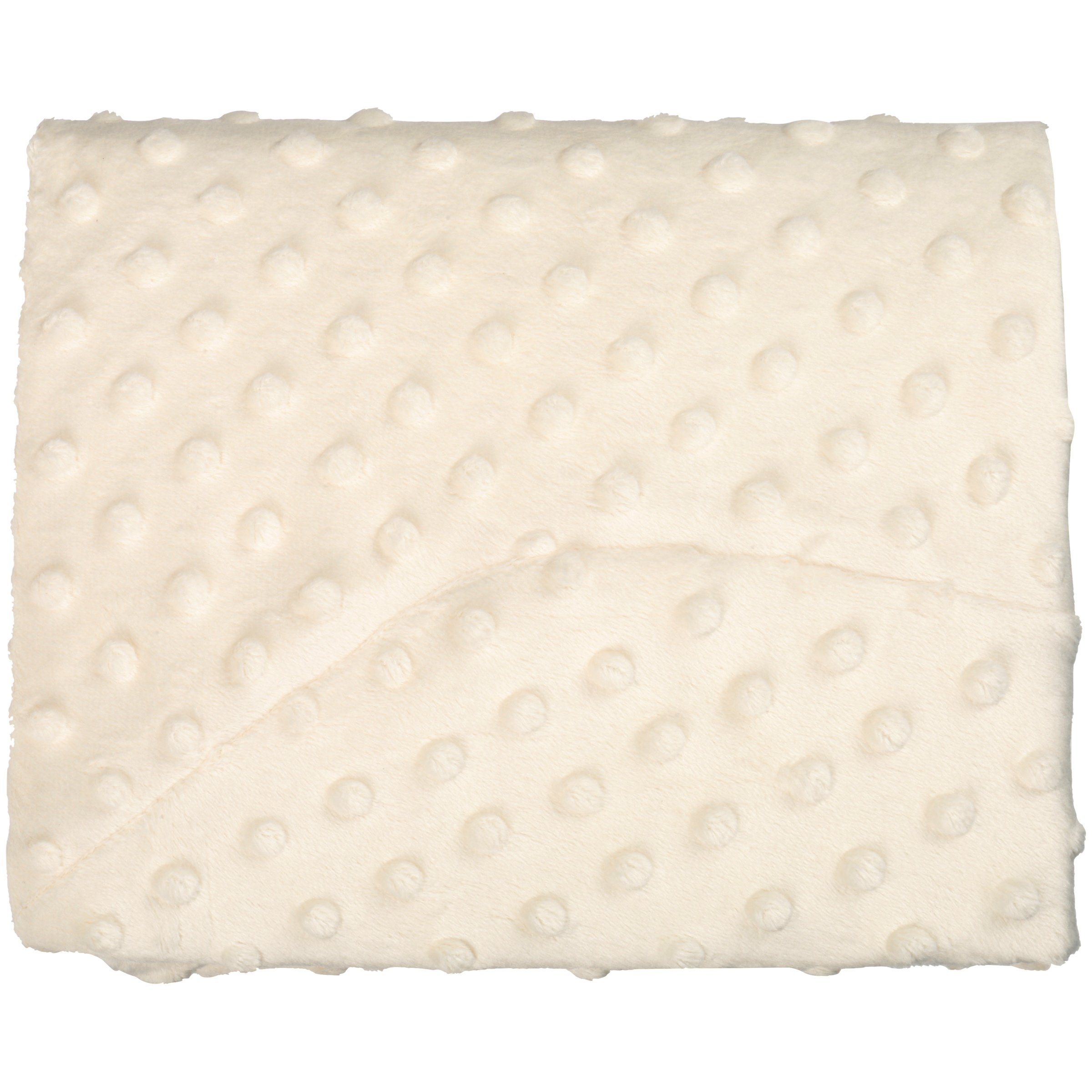 TL Care® Ecru Heavenly Soft Minky Dot Fitted Contoured Changing Pad Cover