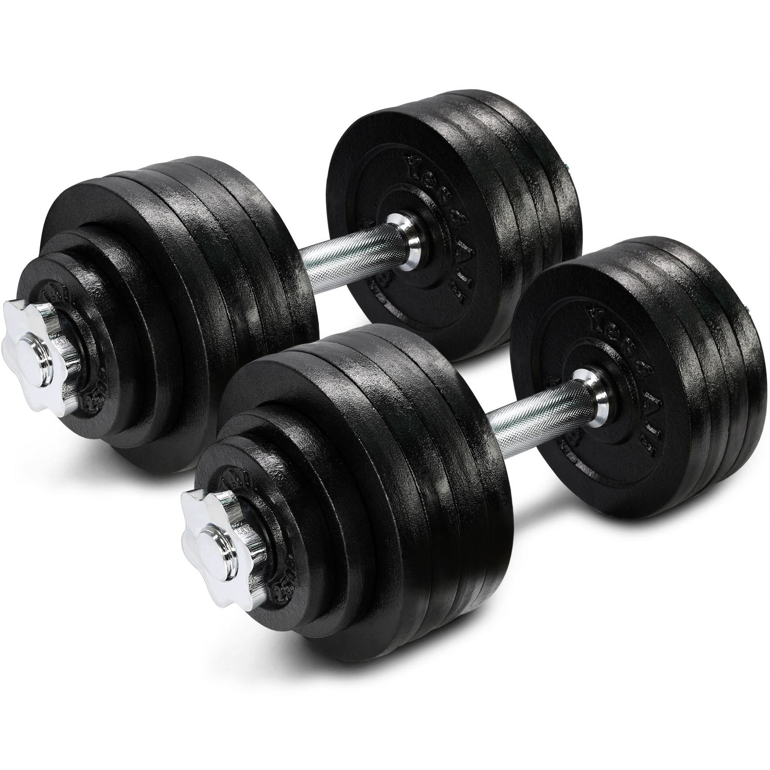 Yes4All Cast Iron Adjustable Dumbbell 105lbs