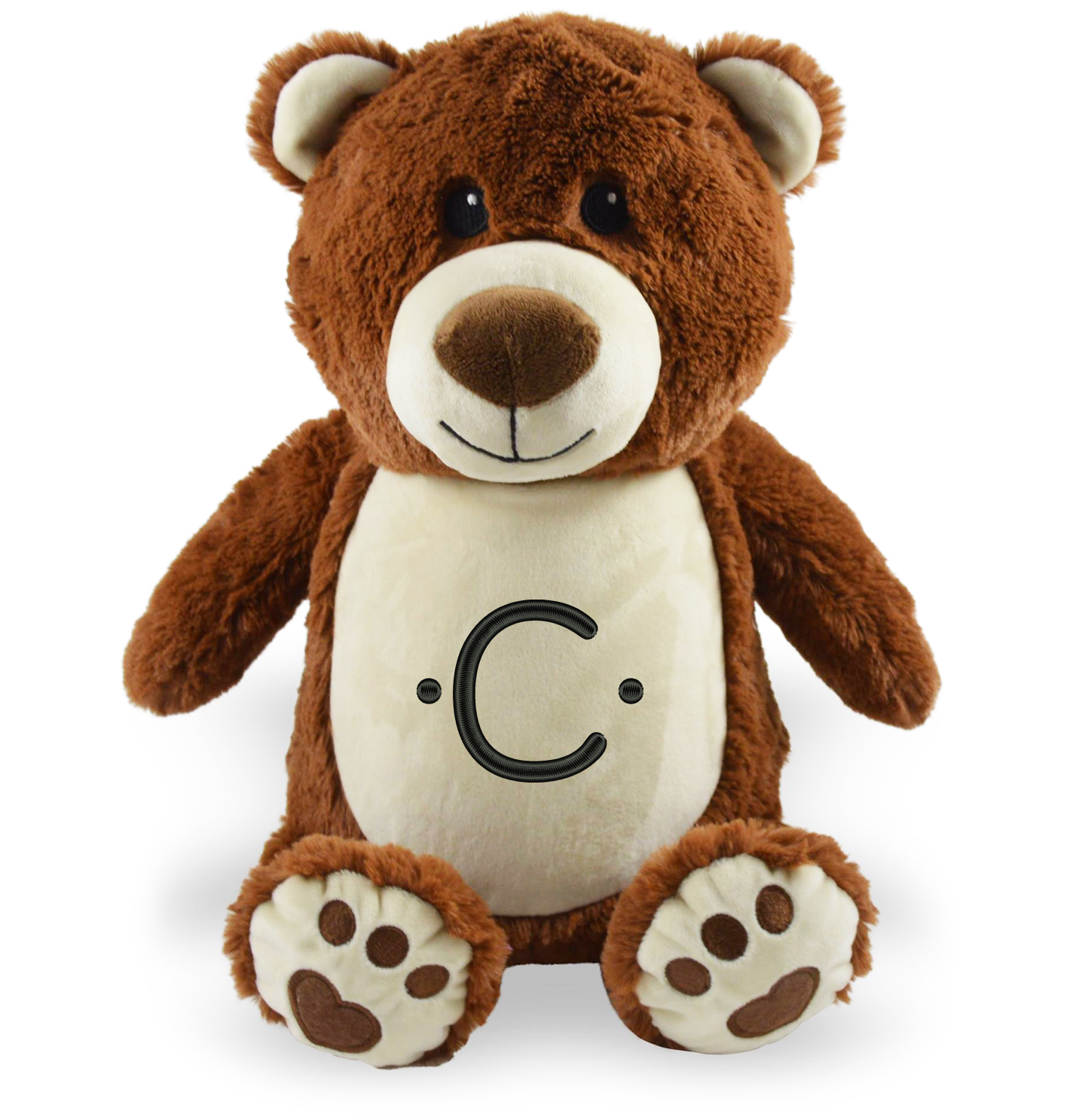 Plush Personalised Teddy Bear FREE Embroidered lettering PREMIUM Soft