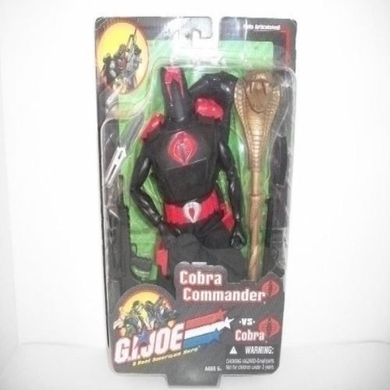 Cobra Commander GI Joe vs. Cobra 12 Inch Action Figure by