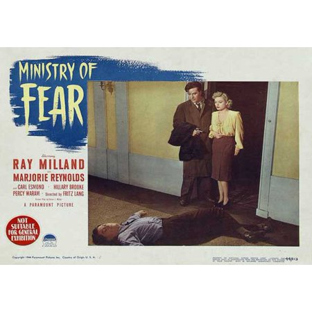 Ministry of Fear POSTER Movie C Mini Promo (Ministry Halloween)