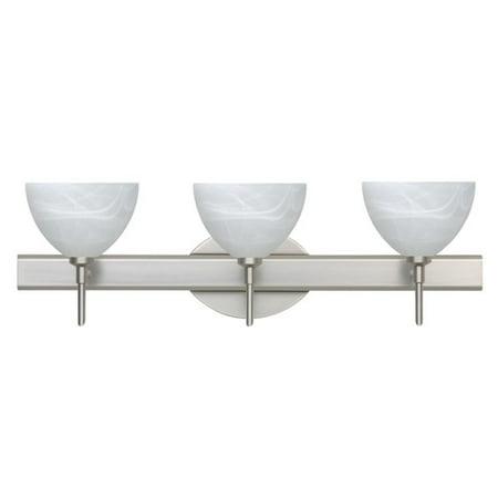 Besa Lighting SW Brella Light Reversible Halogen Bathroom - Halogen bathroom vanity lights