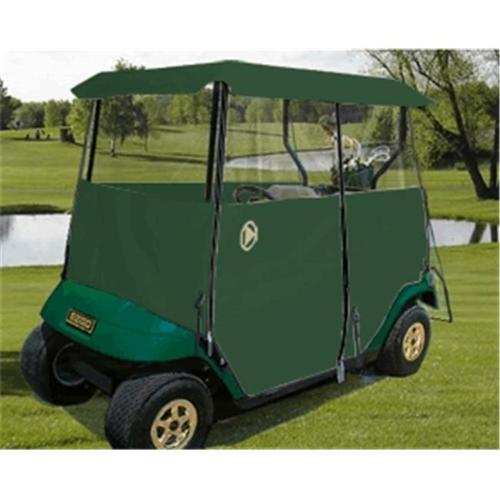 Greenline GLEG02 Greenline Drivable Universal 2 Passenger Golf Car Enclosure- Forrest Green