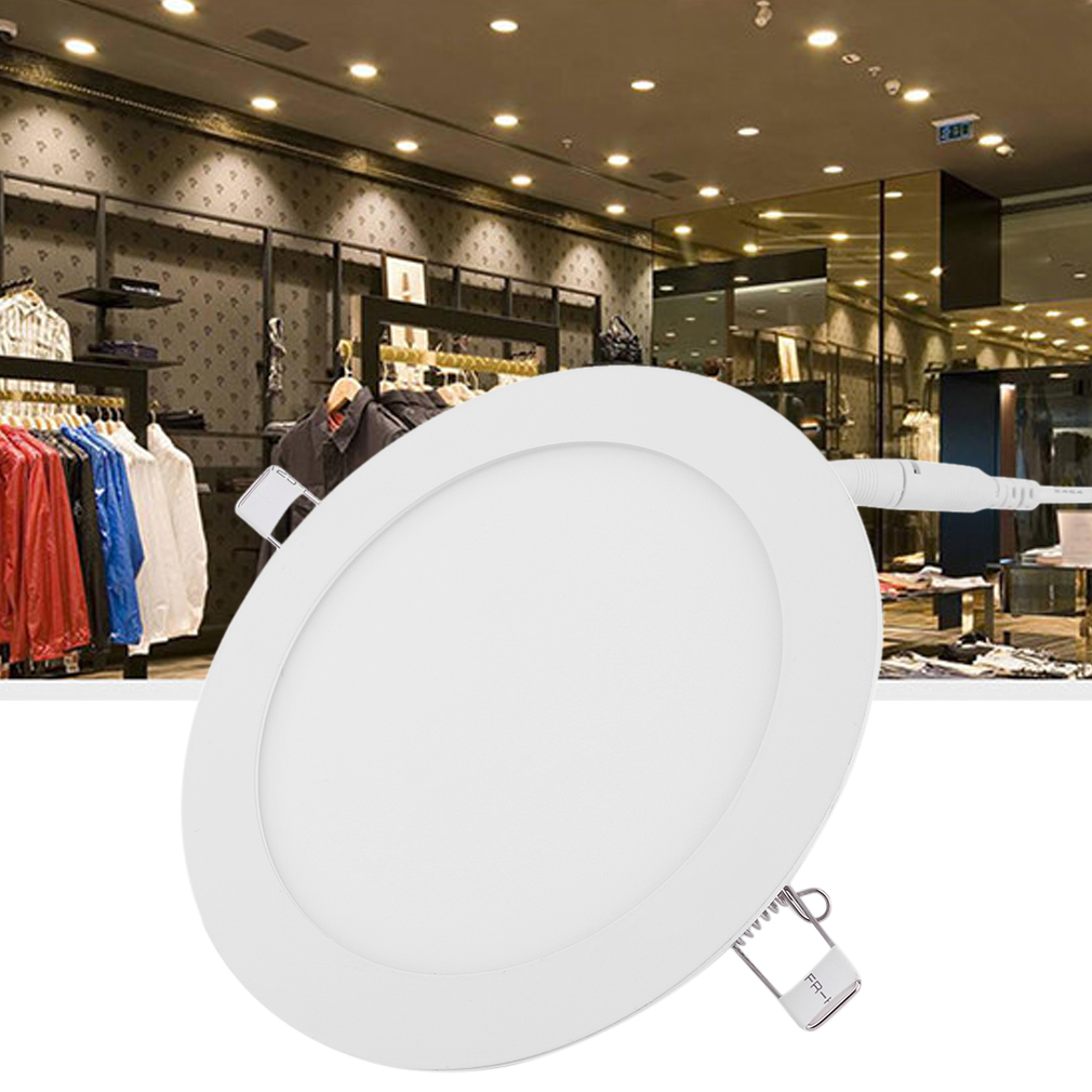 4pcs Round Super Bright 12W LED Recessed Ceiling Panel Down Light Bulb Lamp
