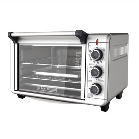 Turbo Air Countertop (BLACK+DECKER Convection Countertop Oven, Stainless Steel, TO3000G)