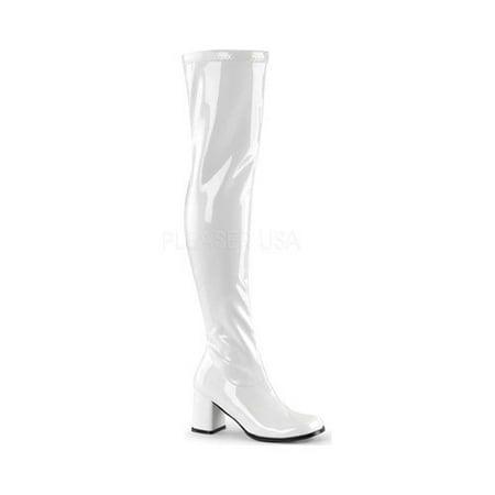 Size 14 Thigh High Boots (Women's Funtasma Gogo 3000 Thigh High)