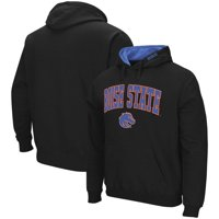 Boise State Broncos Colosseum Arch & Logo Pullover Hoodie - Black