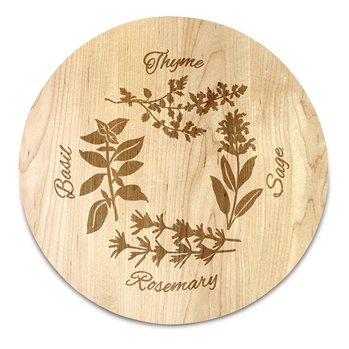 Martins Homewares Herb Garden Serving Board