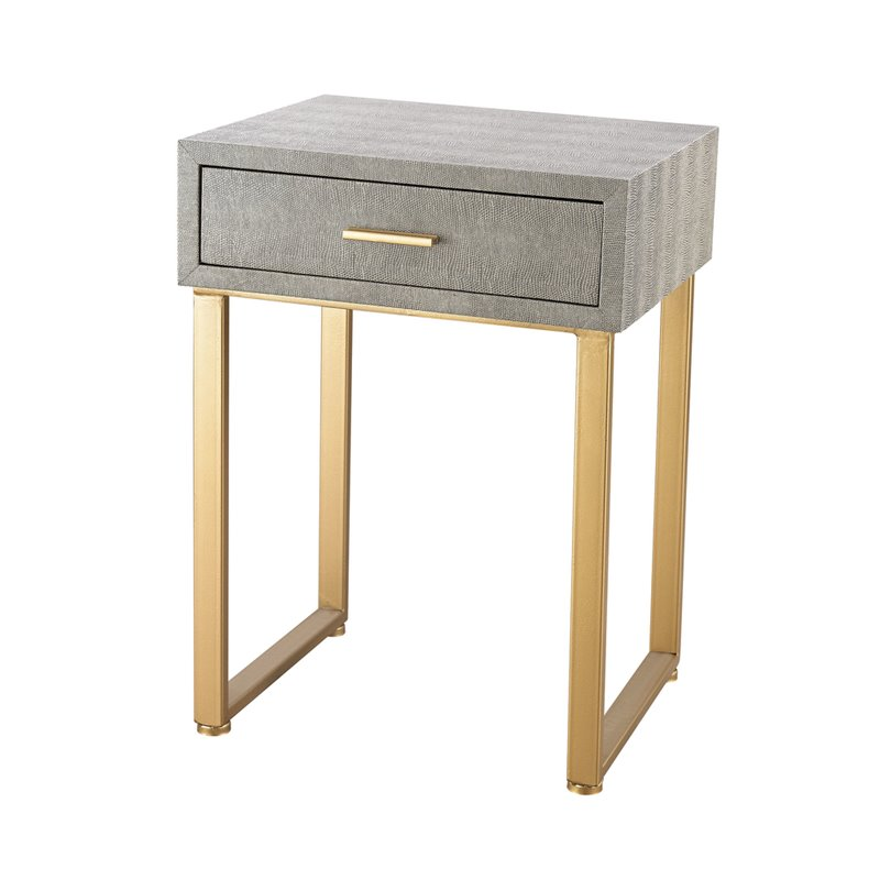 Elk Lighting Beaufort Point Accent Side Table by Sterling