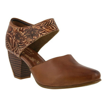 Women's L'Artiste by Spring Step Toolie Heeled Mary Jane - Heel Mary Janes