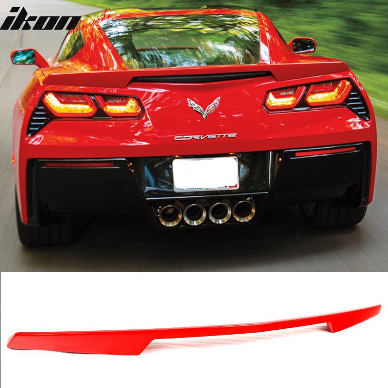 Fits 14-17 Chevrolet Corvette C7 Trunk Spoiler - ABS