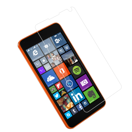 REIKO NOKIA LUMIA 640 TEMPERED GLASS SCREEN PROTECTOR IN CLEAR