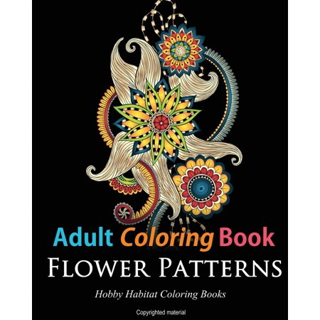 Adult Coloring Books Flower Patterns 50 Gorgeous Stress Relieving Henna Designs