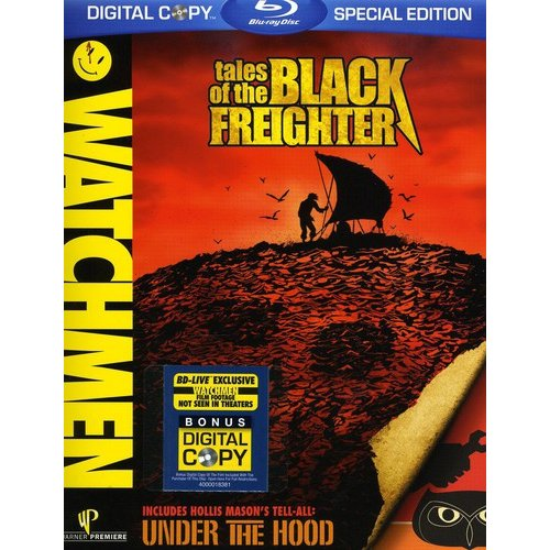 Watchmen: Tales Of The Black Freighter / Under The Hood (Blu-ray) (Widescreen)