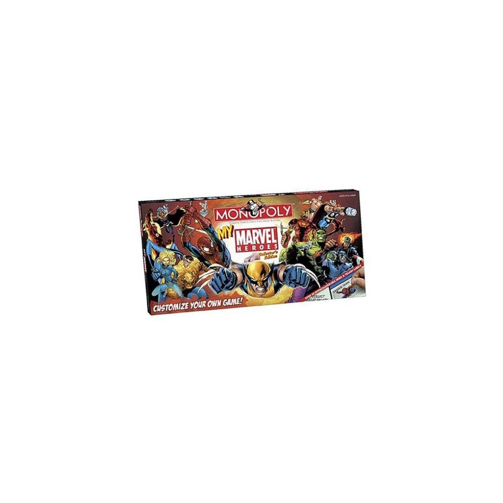 My Marvel Heroes Monopoly by