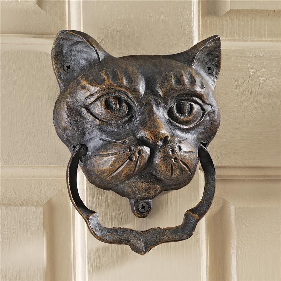 Design Toscano Vecchio Greenman Authentic Foundry Iron Door Knocker