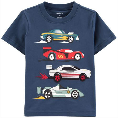 Carters Toddler Boys Race Cars T-Shirt ()